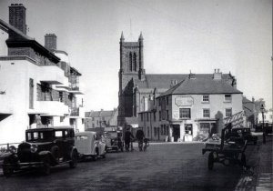 Old photo of St. Andrew's Church